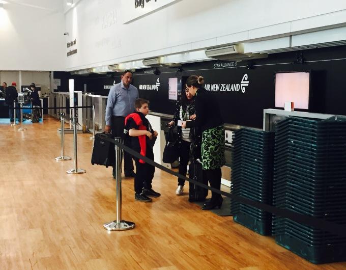 Despacho de bagagens - ANZ